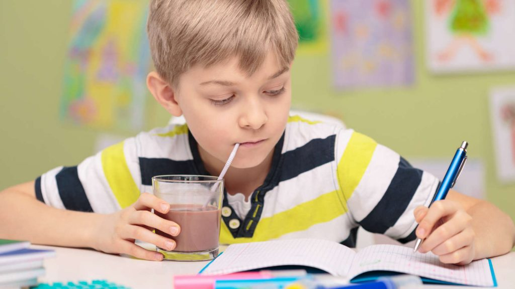 Value Of Healthy Drinks For Children