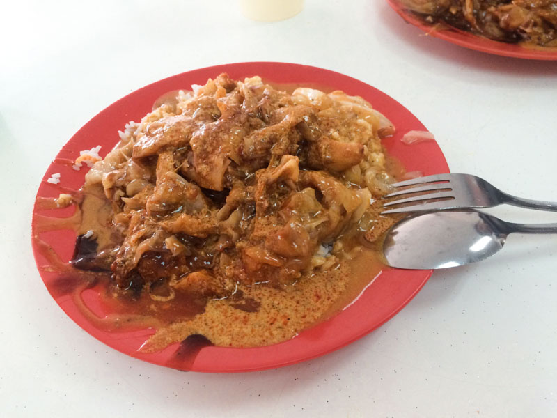 The Popularity Of Scissors Cut Curry Rice Singapore Stall