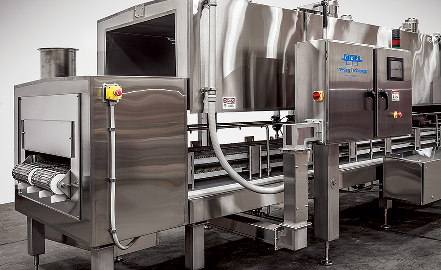 How does a Tunnel Freezer work?